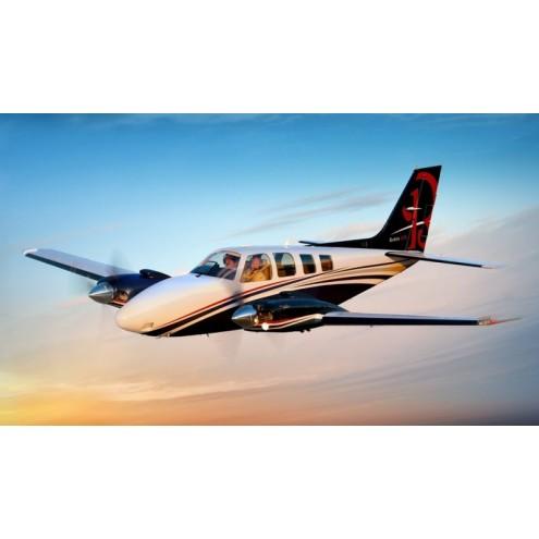 Аренда частного самолета Beechcraft Baron 58
