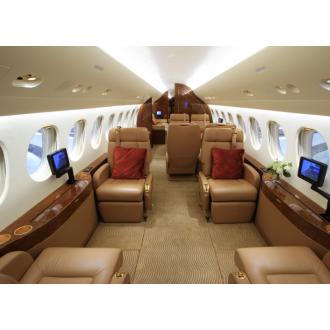 Аренда частного самолета Dassault Falcon 7X
