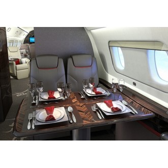 Аренда частного самолета Embraer Lineage 1000