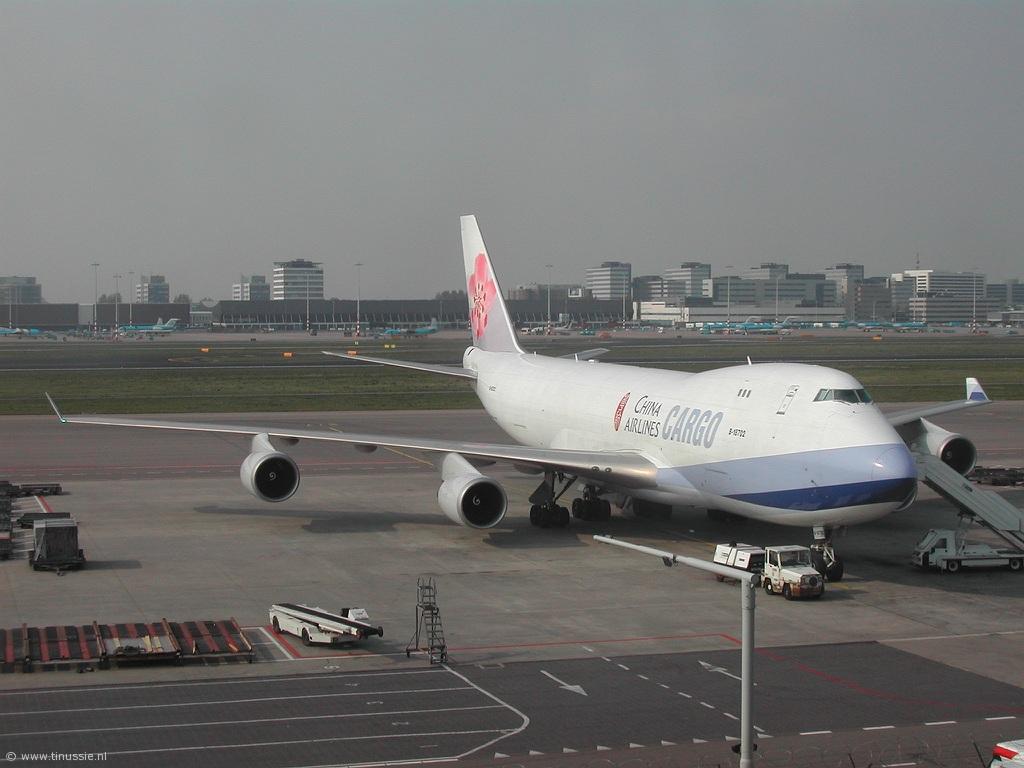 транспортный самолет Boeing 747-200F