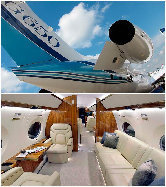 аренда Gulfstream G650 в Казахстане