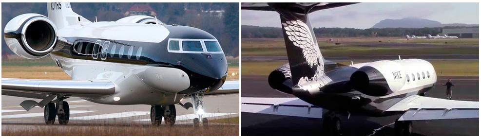 частный самолет Gulfstream G650