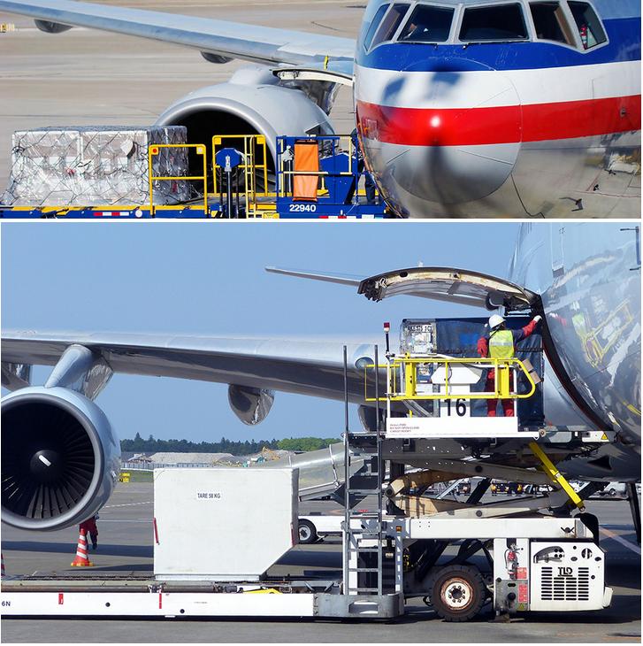 перелет на грузовом самолете