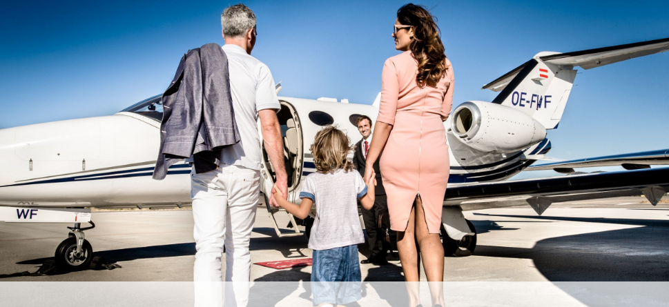аренда самолета для частного перелета