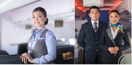 стюардесы в бизнес джете