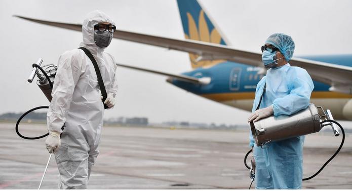 Коронавирус в бизнес джетах - дезинфекция самолета от ...