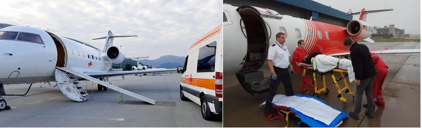 медицинские рейсы на частных самолетах