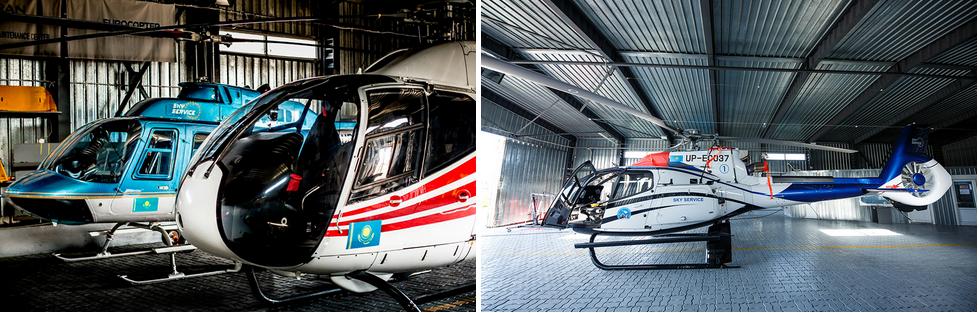 аренда частных вертолетов