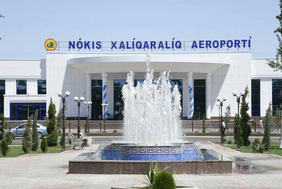бизнес джет в аэропорту Нукус